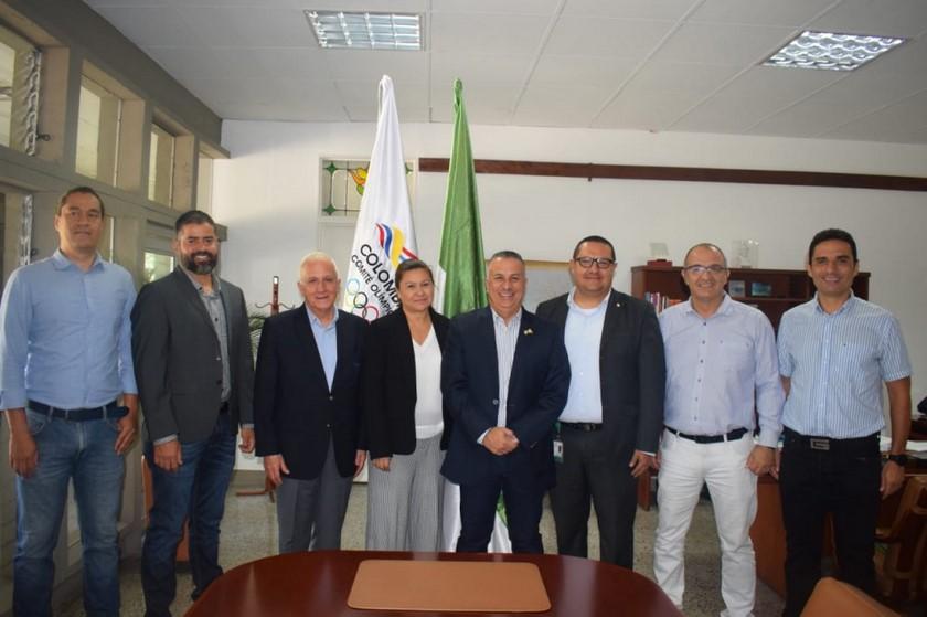 Comite Olimpico Colombiano y U de SA firman convenio 3