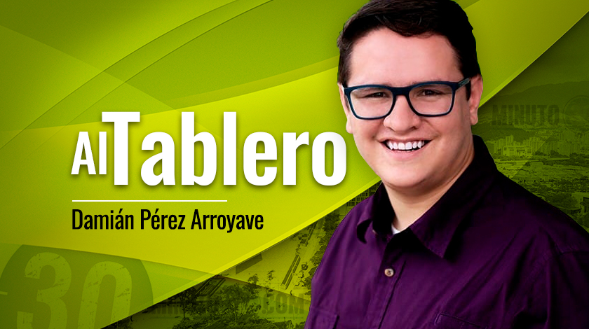 Dami%C3%A1n P%C3%A9rez Arroyave Al Tablero