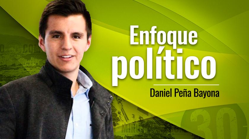 Daniel Pe%C3%B1a Bayona Enfoque pol%C3%ADtico