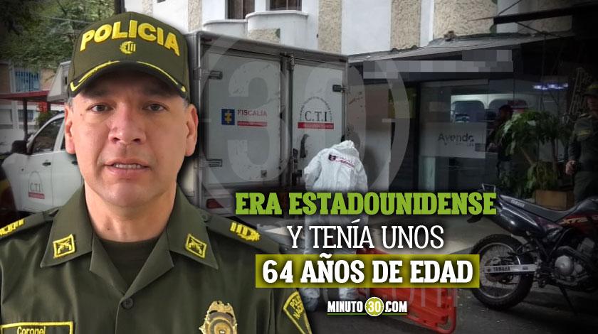 Detalles estadounidense encontrado muerto en hotel de La 70 Medellin