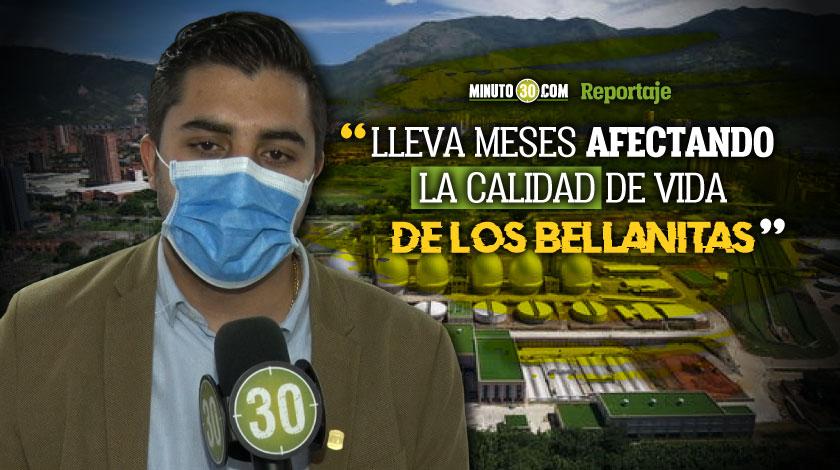 En la Asamblea piden solucion a los malos olores de la planta de tratamiento de aguas residuales de Bello
