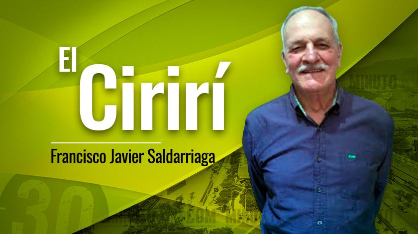 Francisco Javier Saldarriaga El Chirir%C3%AD1