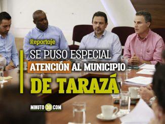 Gobernador de Antioquia se reunio con lideres sociales del Bajo Cauca para garantizar su proteccion
