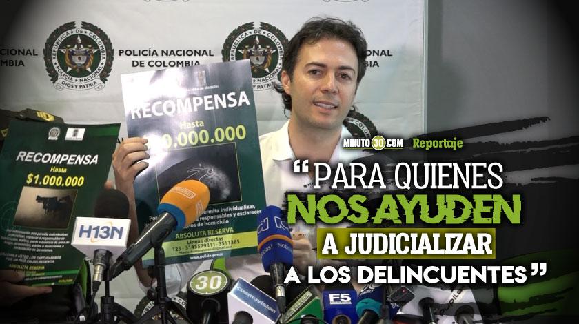 Hasta 10 millones ofrecen en Medellin para dar con el paradero de homicidas