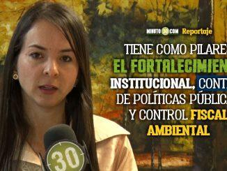 Nueva contralora general de Medellin asumio funciones y se refirio a los retos que tendra en el cargo