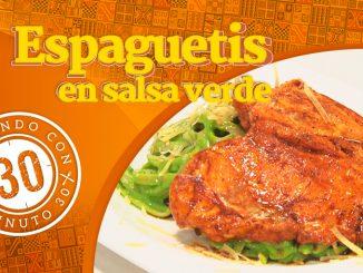 Portada Spagetis en salsa verde Destacada 1