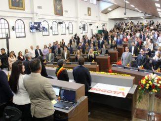 Posesion concejales de Bogota