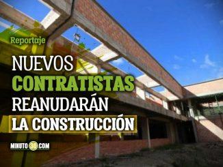 Secretaria de Educacion de Antioquia entrego detalles sobre reinicio de obras de megacolegios paralizados