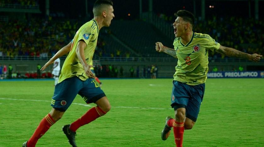 Seleccion Colombia Sub 23 Preolimpico 3 1