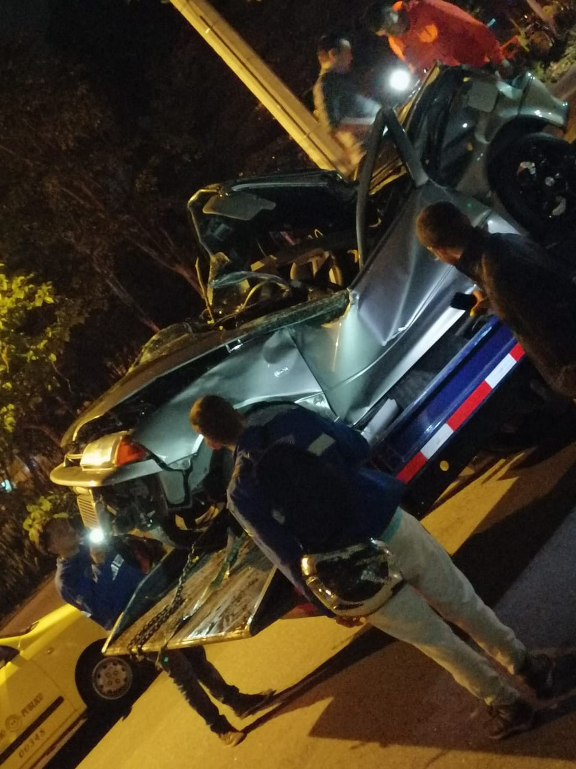 accidente avenida las vegas 2
