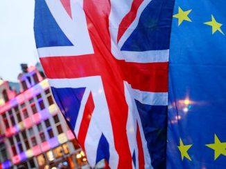 banderas ue y reino unido