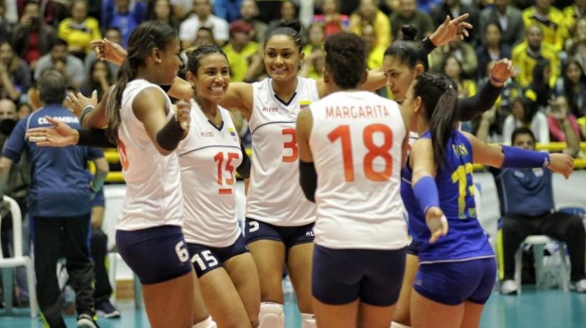 colombia femenina voleibol