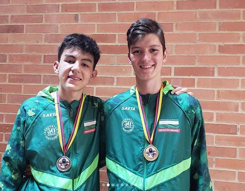 jacob y alejandro medallas