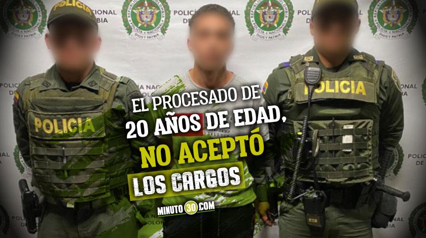 A la carcel alias Pablito por doble homicidio en la Comuna 15 de Medellin