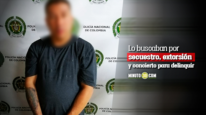 Autoridades cogieron a Banano un importante cabecilla que tenia azotadas dos comunas de Medellin