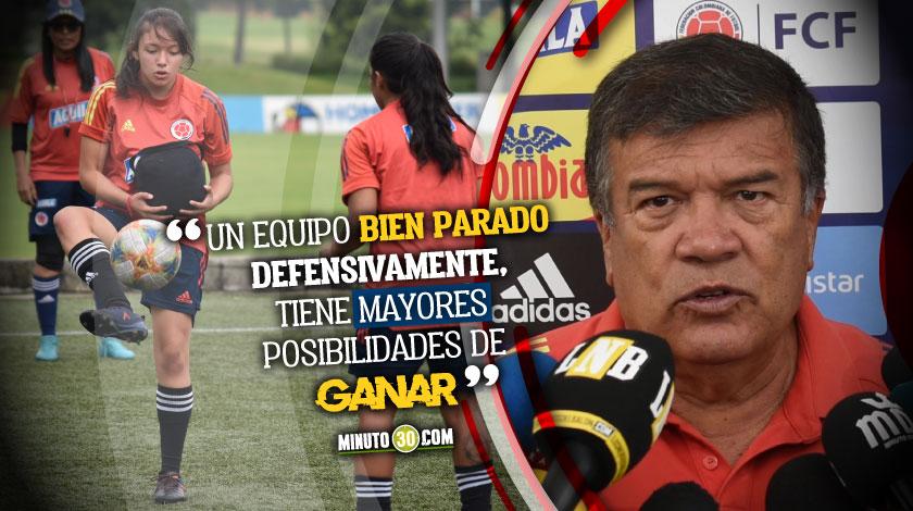 Colombia continua su preparacion para Campeonato Sudamericano Femenino Sub 20