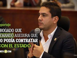 Concejal alex Florez podria tener muerte politica debido a un contrato con el Tecnologico de Antioquia