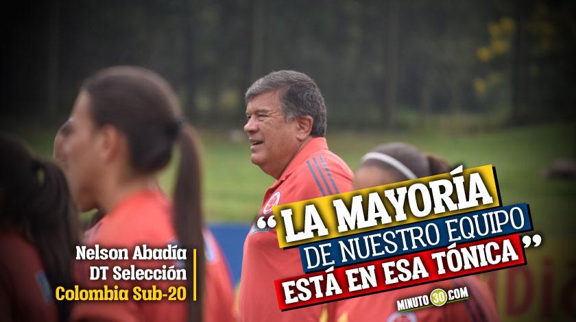 DT de la Seleccion Colombia femenina enfatiza en tres pasos fundamentales para las futbolistas