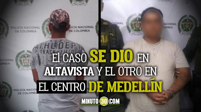 En Medellin cogieron en flagrancia a dos sujetos que prentendia explotar secualmente a dos ninas de 13 y 15 anos de edad 1