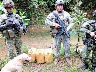 Explosivos del Eln pacifico Buenaventura