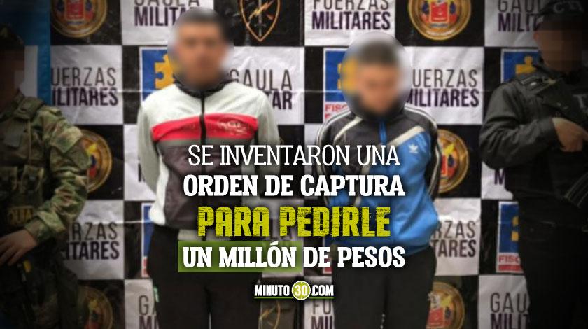 Fiscalia apela detencion domiciliaria otorgada a dos policias que al parecer extorsionaban a un comerciante en Medellin