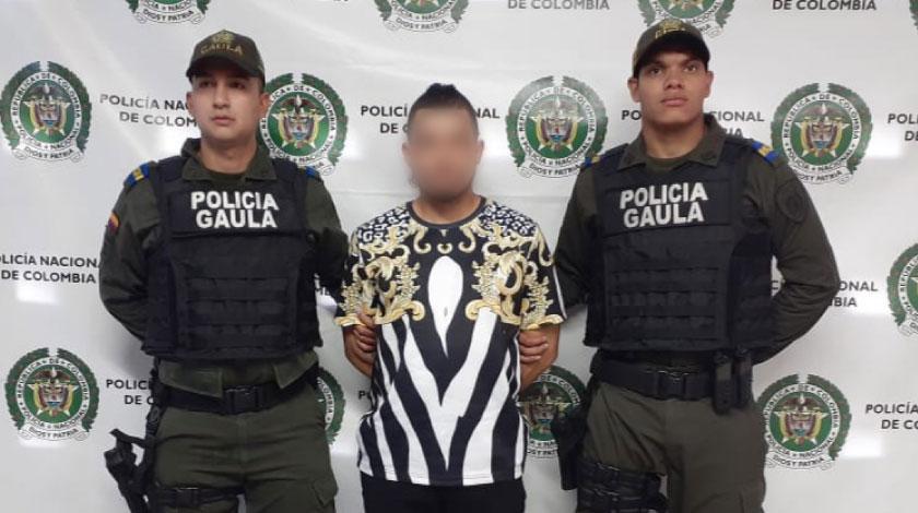 Hernan Dario Gallego Florez alias Rasta o Soni presunto cabecilla de la banda criminal El Ajizal