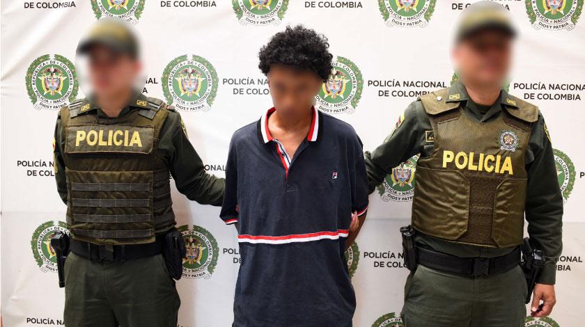 Joel Antonio Uribe Lopez alias Joel cabecilla de El Ajizal