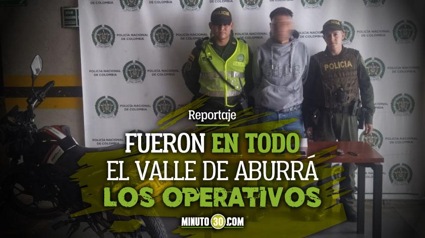 La Policia se puso a perseguir ladrones esta semana y capturaron a 12 recuperando tambien casi 40 motos