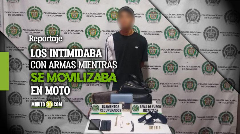 Por informacion ciudadana fue que capturaron al sujeto que atraco a cuatro personas en El Poblado