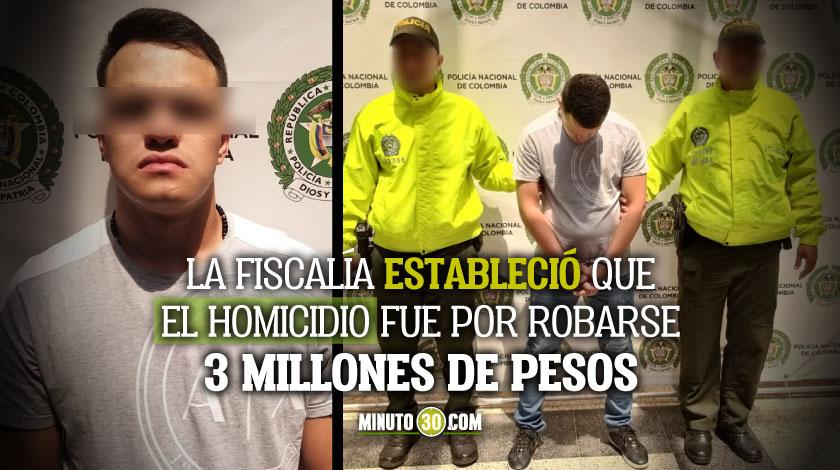 Prision preventiva para hombre senalado como posible autor del homicidio de un vigilante en el centro de Medellin