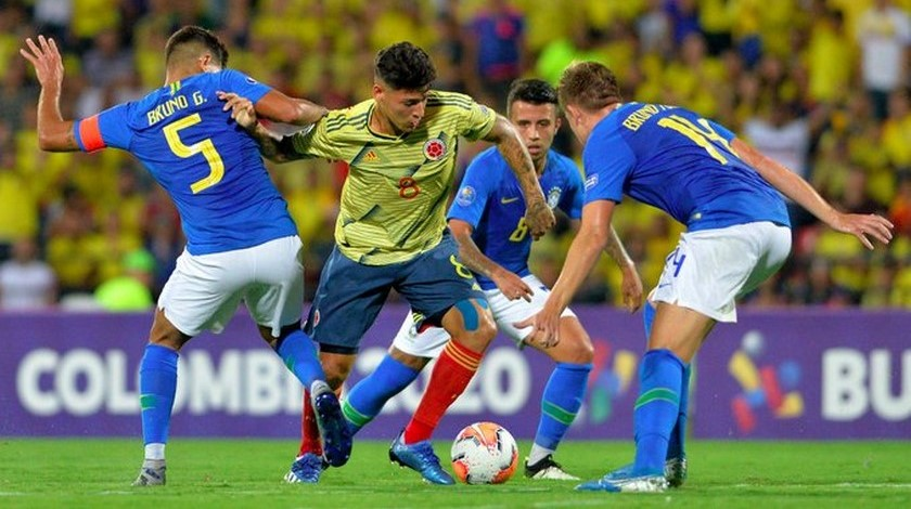 Seleccion Colombia Sub 23 vs Brasil 3