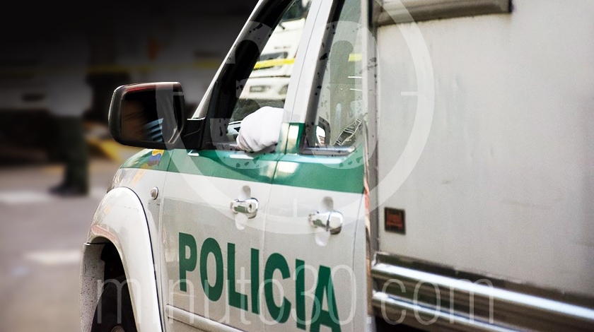 barrio caribe operativo medellin captura policias