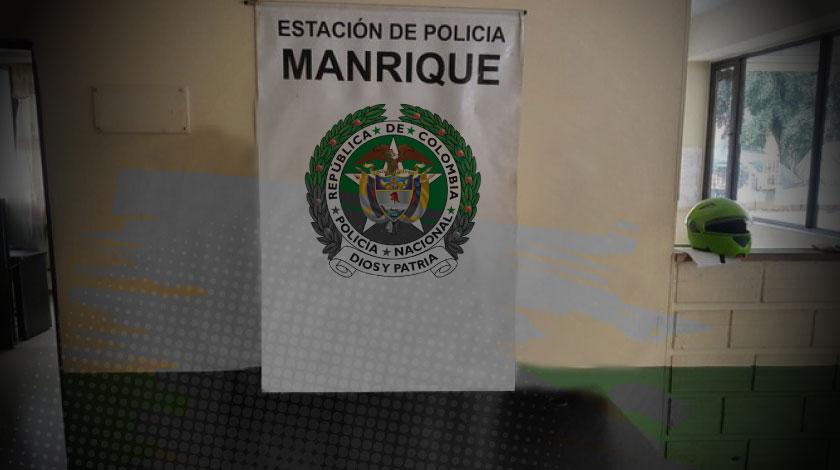 estacion policia manrique
