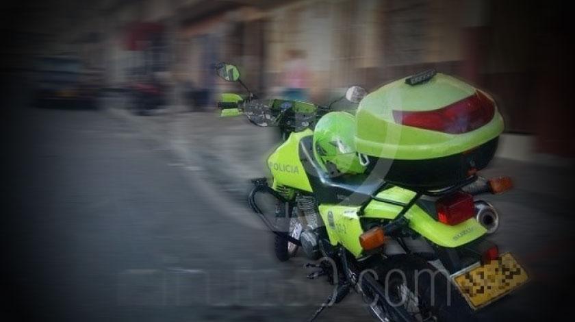 moto policia barrio manrique una calle de manrique operativo