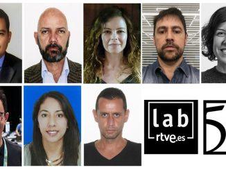 periodistas rey de espana