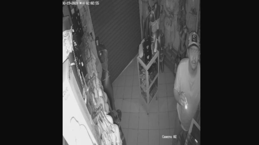 robo en almacen de santa luicia