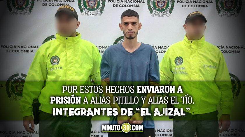 Carcel para presuntos integrantes de la banda El Ajizal que habrian ordenado homicidio de un hombre que se nego a continuar en la organizacion criminal