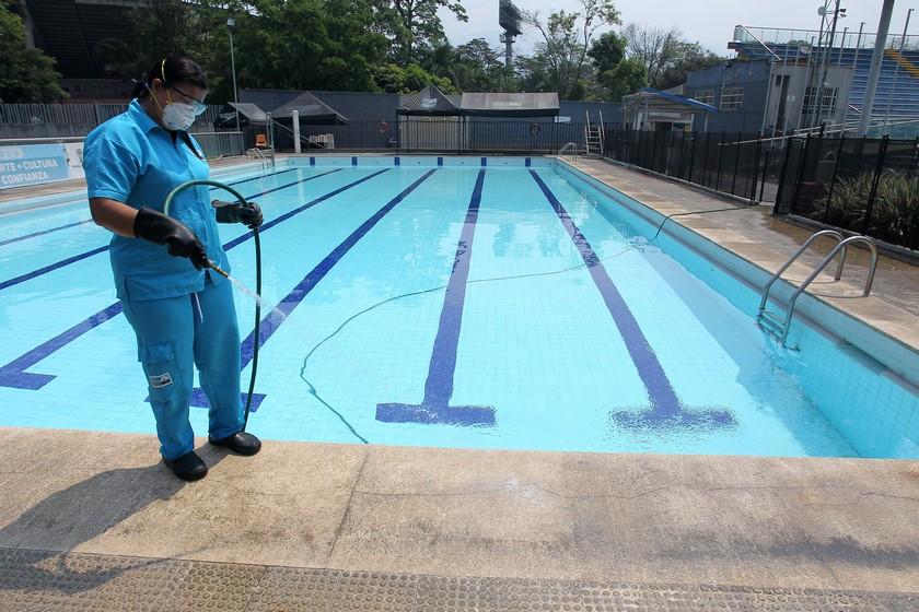 Complejo acuatico Medellin 5