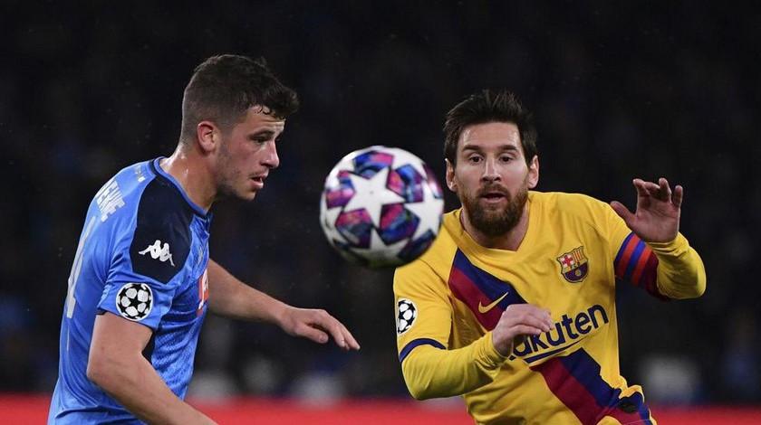 Napoli Barcelona Champions