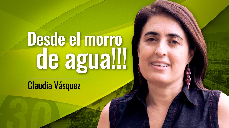 Claudia V%C3%A1squez Desde el morro de agua