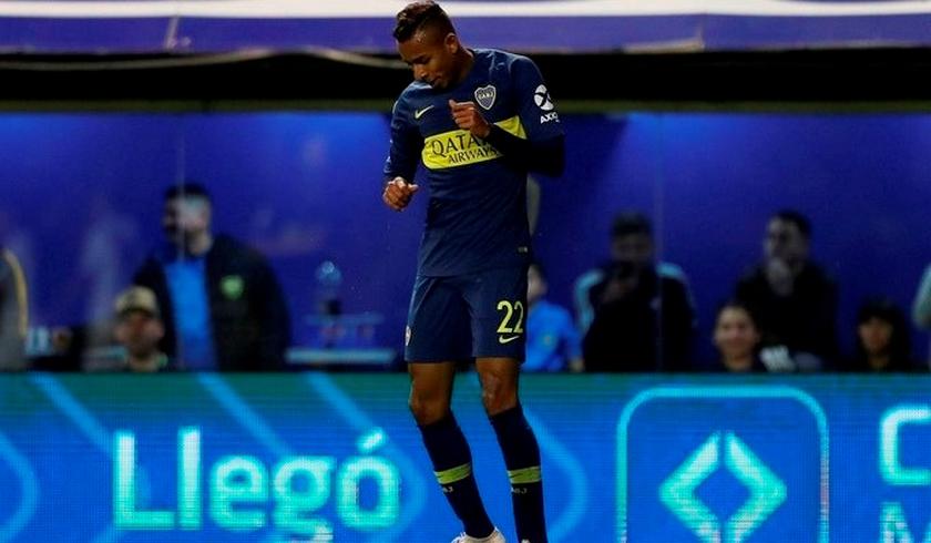 El futbolista Sebastián Villa