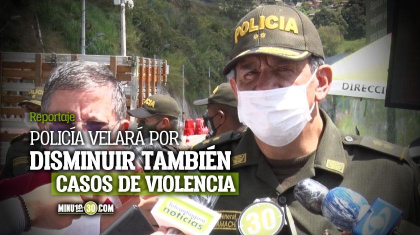 6.500 uniformados vigilaran el toque de queda en el Valle de Aburra