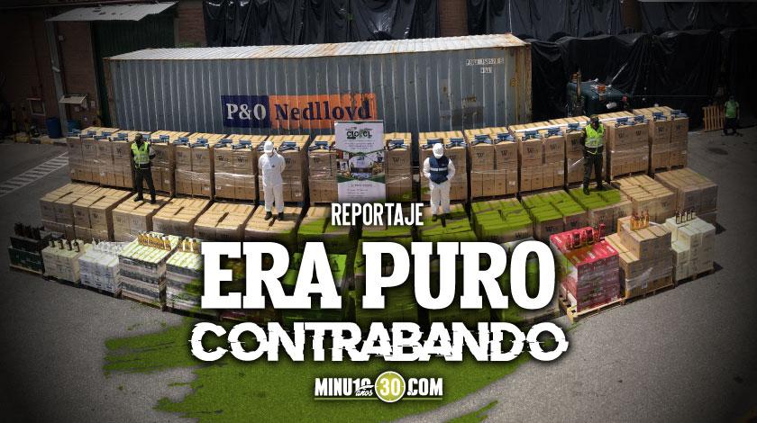 En Itagui cogieron un camion con mas de 440.000 cajetillas de cigarrillo