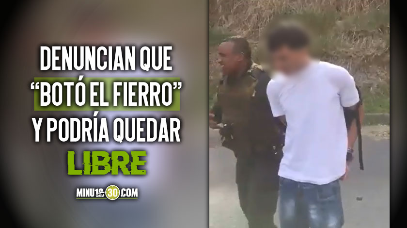 Ladron capturado en la Loma del Indio