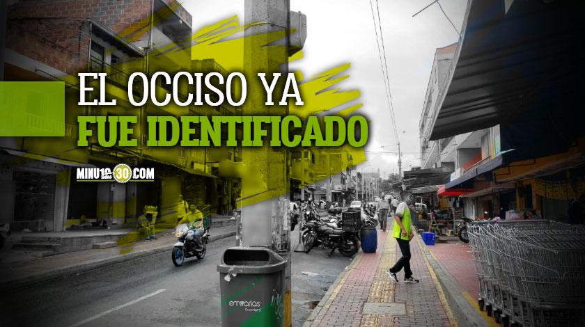 Las autoridades ya tienen al que mato a un habitante de calle en Castilla