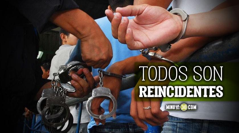 capturaron a 4 sujetos por infringir la cuarentena en el Valle de Aburra 1