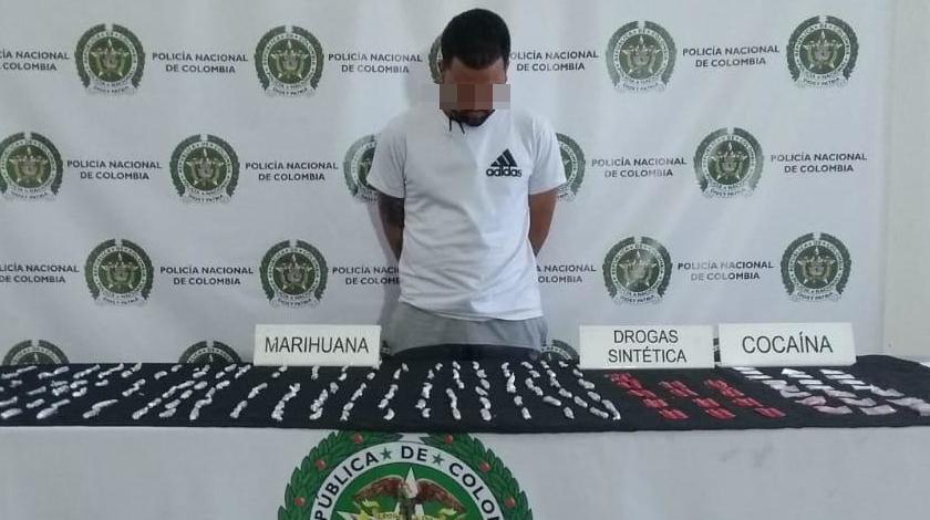 venezolano capturado en el centro de medellin