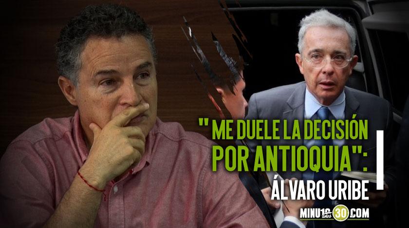 Álvaro Uribe y Aníbal Gaviria