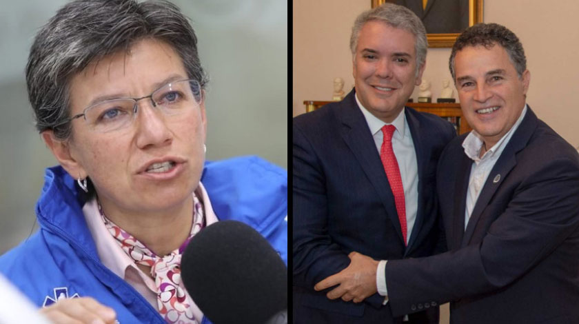 Claudia López Aníbal Gaviria