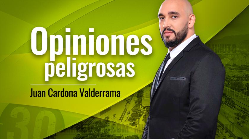 Juan CARLOS Valderrama Opiniones peligrosas nuevo